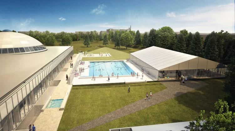 Club de natation piscine de saint germain en laye for Piscine marly le roi