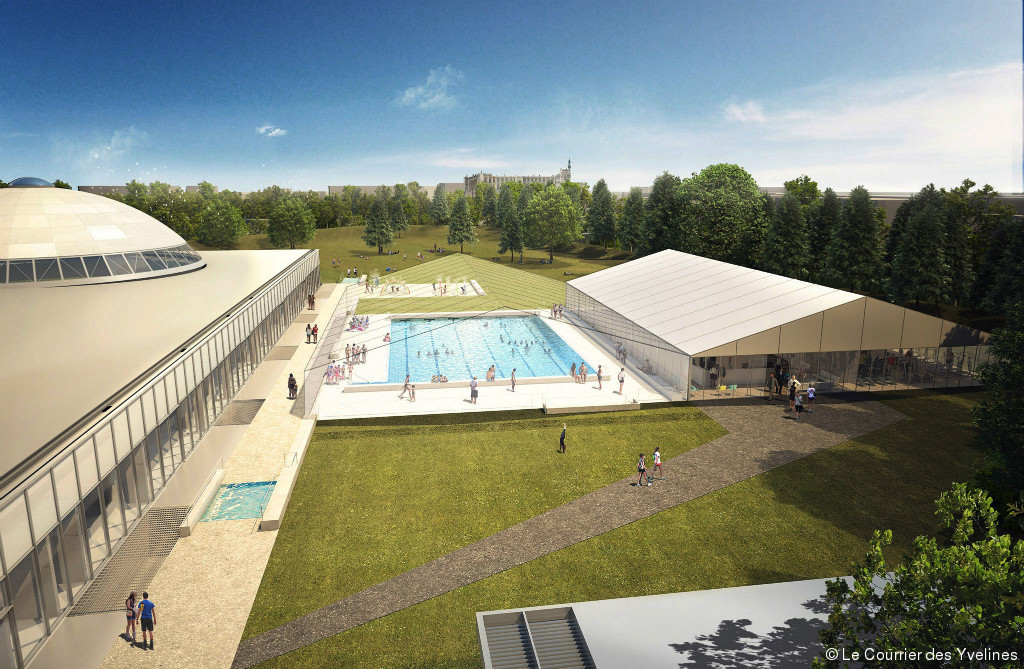 Club de natation piscine de saint germain en laye for Piscine yvelines