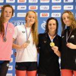 Laurine 3e du 100m dos des Chps de France