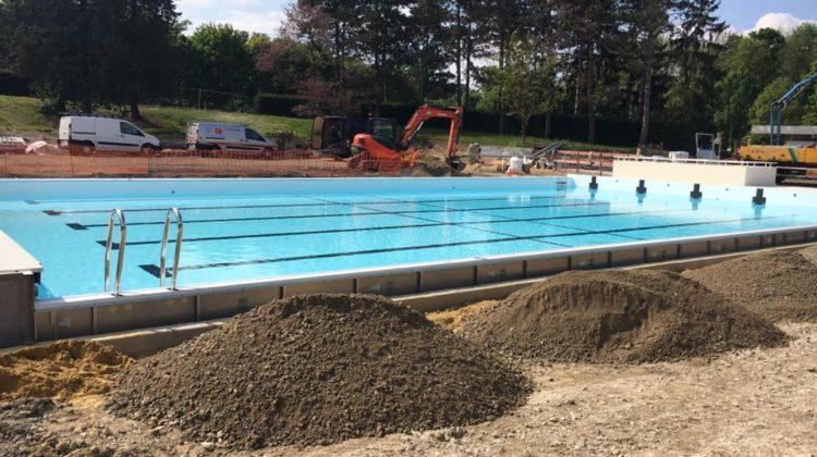 Club de natation piscine de saint germain en laye for Travaux piscine