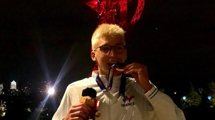 Championnats du Monde Handisport : Alex Portal monte sur la 3e marche du podium du 400m Nage Libre