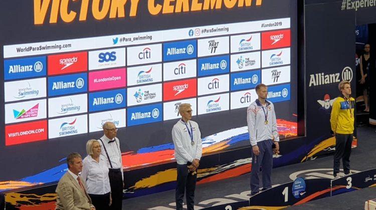 Chps du Monde Handisport : Alex portal vice-champion du monde du 200m 4n