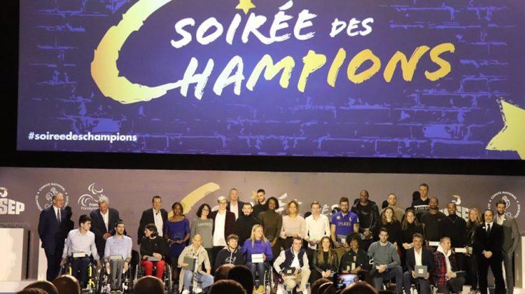 Bravo Alex Portal pour ta récompense ce soir à la #soiréedeschampions à @INSEP_PARIS