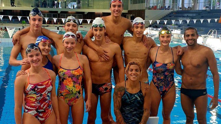 Nous avons la chance de recevoir durant 3 jours la multiple championne du monde d'eau libre brésilienne Ana Marcella