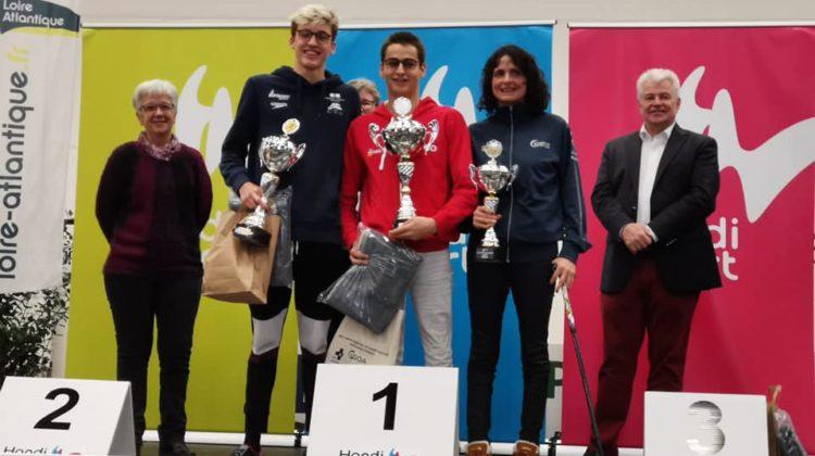 Championnats de France FFH 25m pour Alex et Kylian Portal