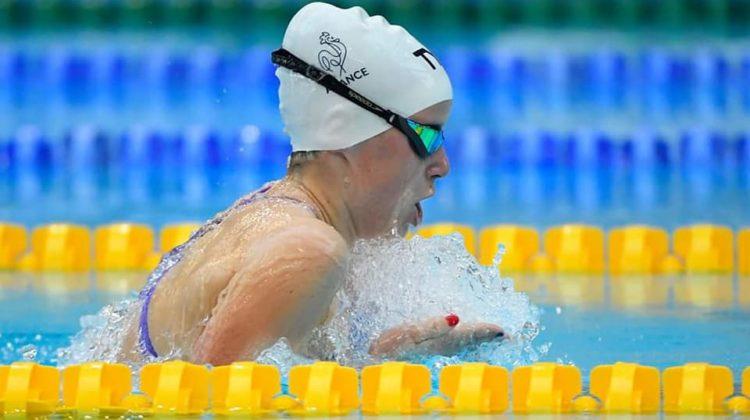 Festival Olympiques de la Jeunesse : Justine prend une magnifique 2e place au 200m brasse