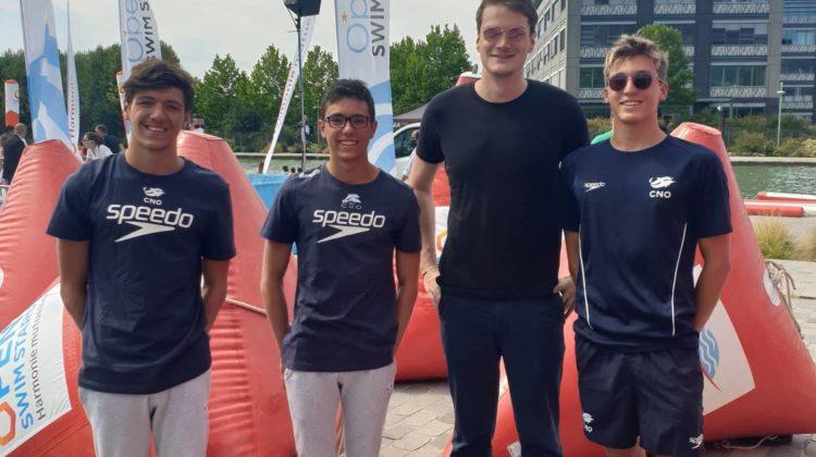 1e course post-covid et 1er podium pour les nageurs du CNO